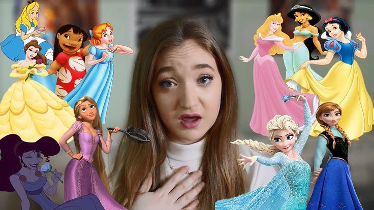 Disney Princess Impressions!! (Singing and Speaking)