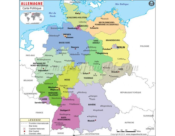 7 best french language maps images on pinterest french french allemagne carte politique germany political vector map gumiabroncs Choice Image