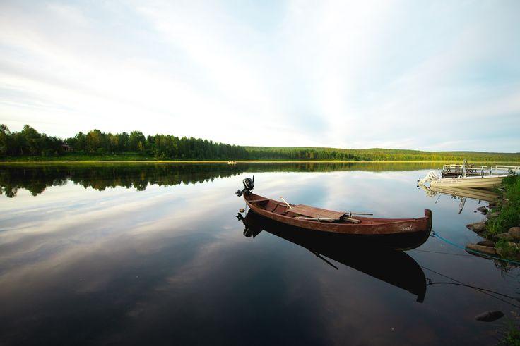 Ounasjoella. #Rovaniemi #Lapland #sokoshotelsroadtrip @kpunkka
