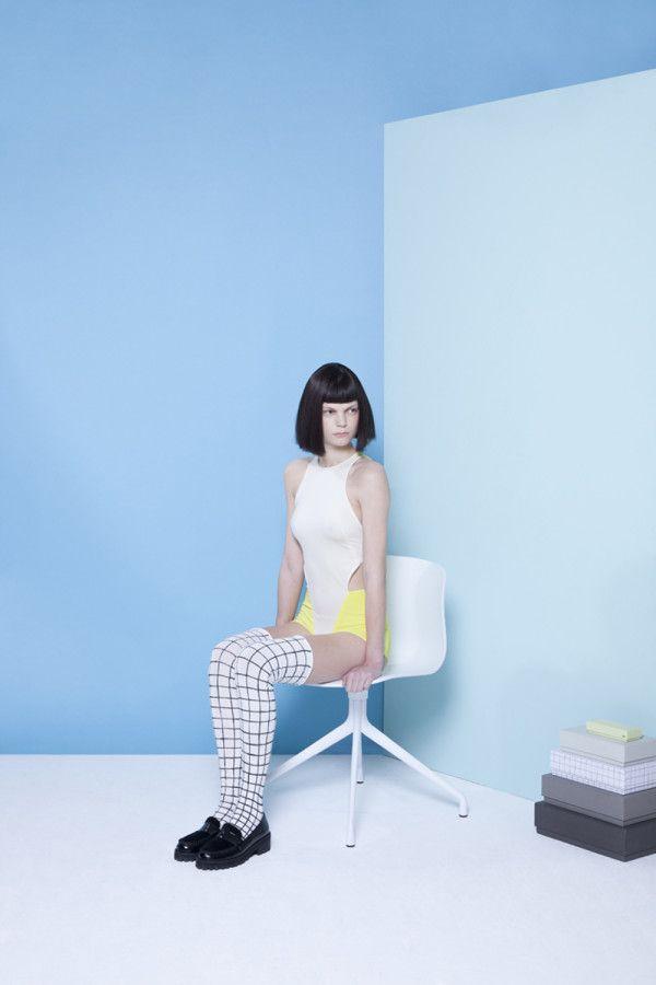 Merel Korteweg's Fashion Identity for HAY | Trendland: Design Blog & Trend Magazine
