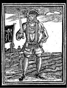 Bartholomew Roberts (17 mai 1682 - 10 février 1722), boucanier britannique de son vrai nom John Roberts, dit Le Baronnet Noir, est un des pirates les plus célèbres de son époque. Né à Casnewydd-Bach, près de Haverfordwest dans le Pembrokeshire au Pays de Galles1, on raconte qu'il a mené la carrière de pirate la plus réussie de toute l'histoire, en capturant plusieurs centaines de navires (jusqu'à 22 navires en une seule prise) en seulement deux ans.