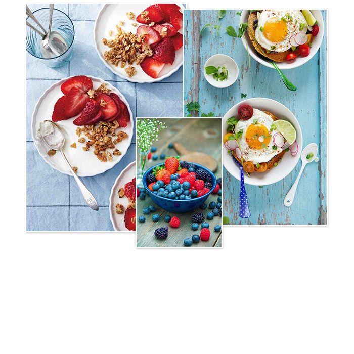 Les 25 meilleures id es de la cat gorie recettes saines pour l 39 t sur pinterest recettes d - Recette petit dejeuner sain ...
