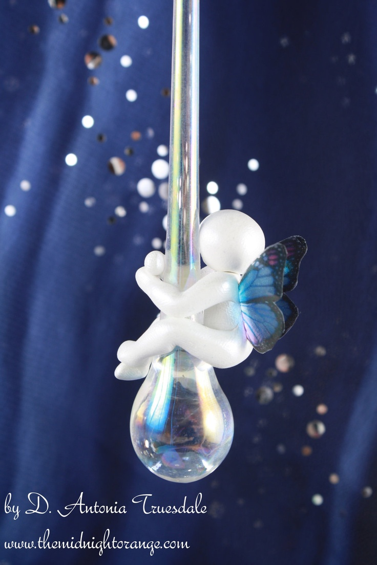 Baby loss ornaments - Butterfly Baby On A Tear Christmas Ornament