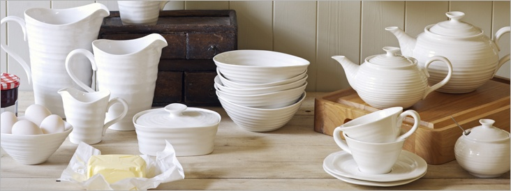 looking for classic white tableware