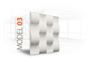 LOFT 3D-paneeli, malli 03 www.dekotuote.fi