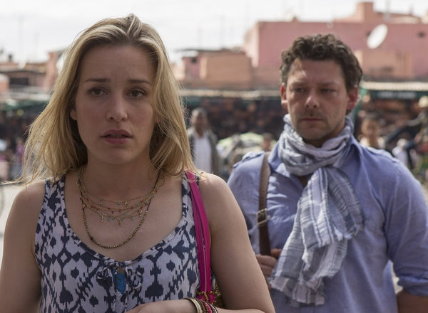 "Piper Perabo and Richard Coyle in Covert Affairs from ""Hang On to Yourself"""