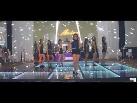 Baile Sorpresa Con Damas │ XV Años │ Andrea │ 2015 - YouTube