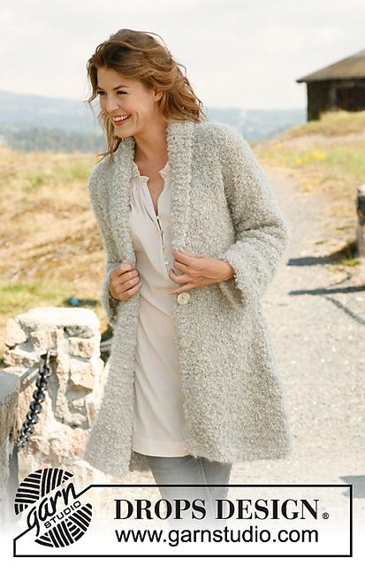 Jacket in Bulky with Shawl Collar Pattern - free on Ravelry