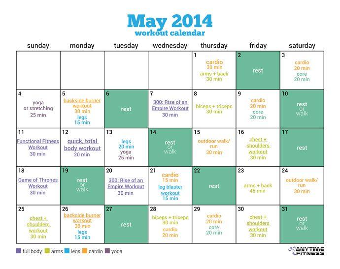 Best 25+ May workout calendar ideas on Pinterest Belly - workout calendar