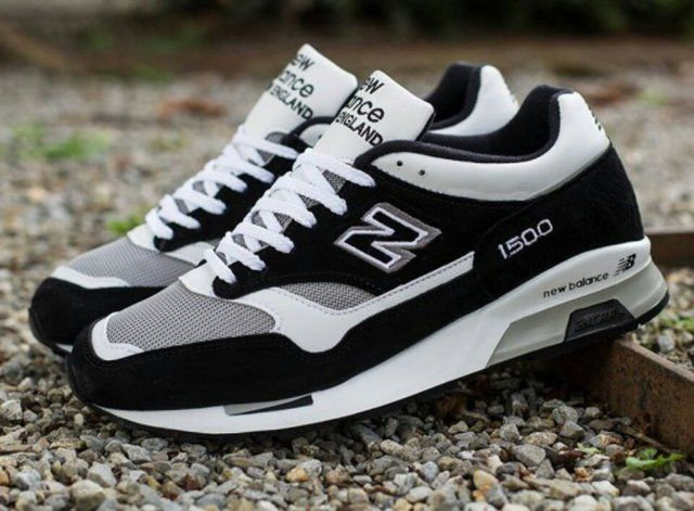 Fancy - New Balance 1500 Made In England Sneakers | Black and ...