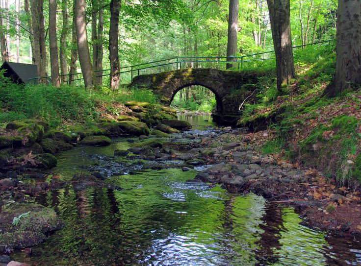 Rennsteig - The historical ridge walk known as the Rennsteig leads for some 170 km (106 miles) through forests and highlands in the centre of the country, and combines rich culture with even richer scenery.