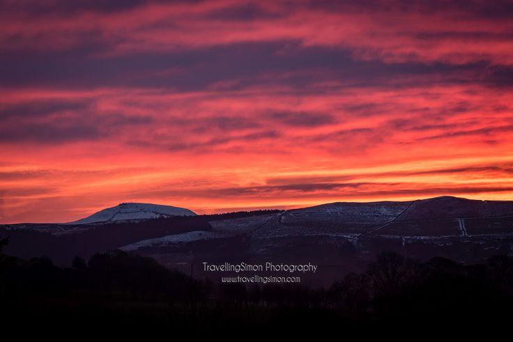 Macclesfield Forest and Shutlingsloe at Sunrise