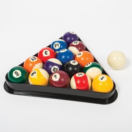 THE BEST DAY Wooden Diamond Shaped Billiard Holder 9-Ball Diamond Rack Pool Table Triangle Ball Rack