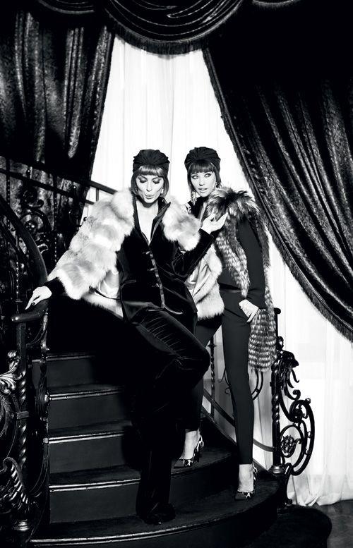 The Modern Duchess : Antonia and Catrinel Menghia