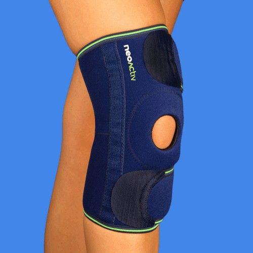 RD10A NeoActiv Rodillera rótula libre reforzada indicada para el centraje de rótula en luxaciones, bursitis y condromalacia rotuliana, artritis de rodilla, artrosis femoropatelar, esguinces ligamentosos, tendinitis, procesos inflamatorios, lesión del tendón rotuliano, prevención de luxaciones, tratamiento post-quirúrgico de fracturas de rótula, rehabilitación postraumática y post-operatoria. #salud #deporte #ortopedia