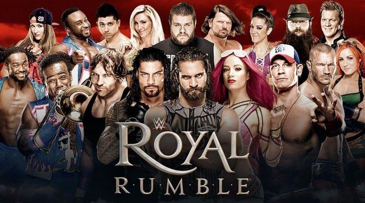 Updated WWE 2018 Royal Rumble Card & Participants. – RumblingRumors