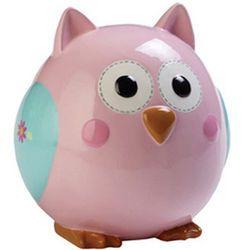 Pink Owl Piggy Bank #owl