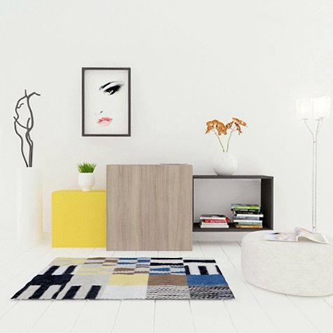 TETREES modular furniture! Let's play!