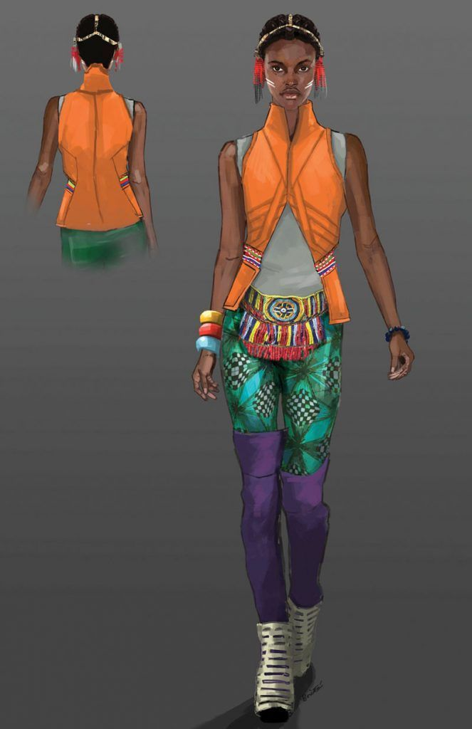 A Gallery Of Ruth Carter S Costume Designs For Black