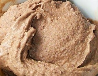 Freeze a banana, then combine with 2 tbsp cocoa powder and blend until smooth & creamy. Yummy treat!