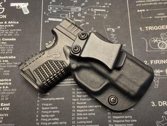 Springfield Armory XDS 3.3 45/9mm Custom Holster / IWB /