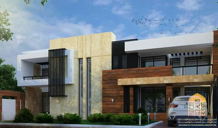 Pin By Fahad Thunder On House Duplex House Design Facade Design Contemporary House Design