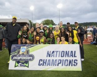Oregon wins 2017 women's outdoor track and field championship - NCAA Sports