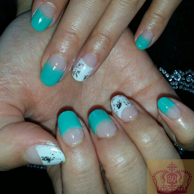Custom mixed Biosculpture colour perfect for spring