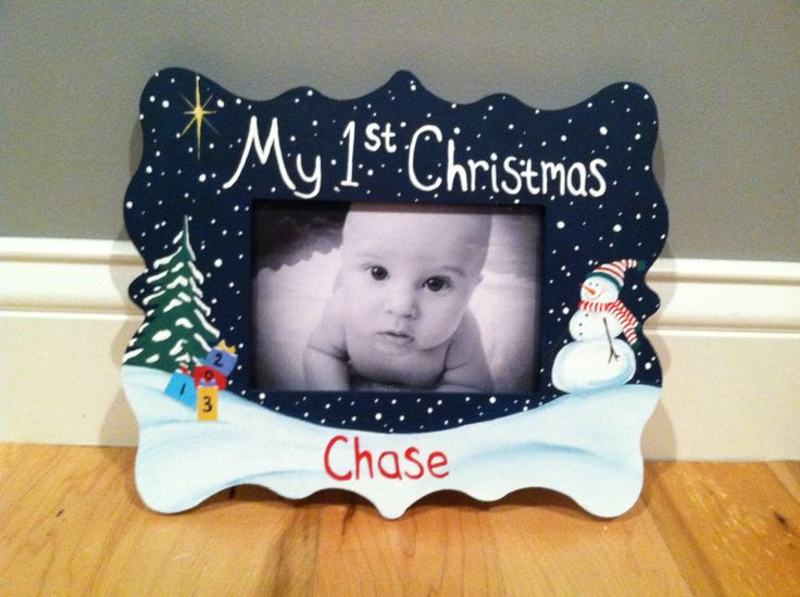 Collection of Baby First Christmas Frame - Christmas Tree Decoration ...