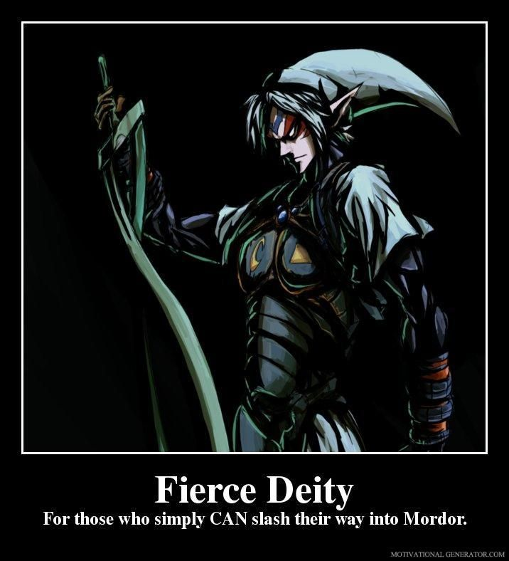 Deity Fierce Link Super Smash Bros. 3DS | Fierce Deity Link vs Dark Link
