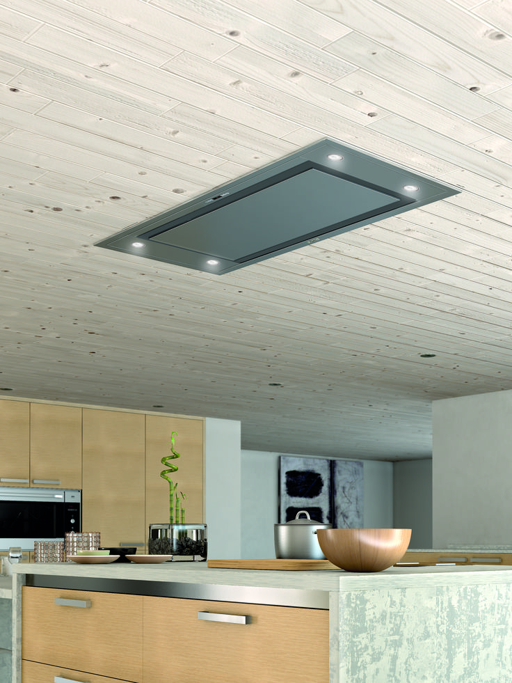 This Galaxy Ceiling Franke Hood is perfect for a kitchen with an island http://www.nestkitchens.co.uk/
