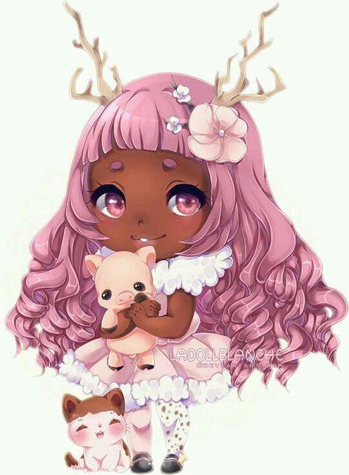 Imagem de yuuhami neven chibi pinterest dessin - Dessin manga animaux ...