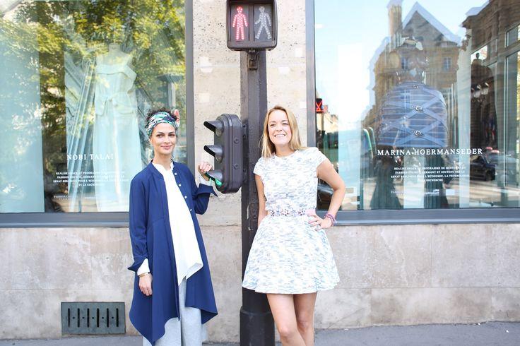 ICON TV // In Paris mit Nobieh Talaei // PARIS FASHION WEEK