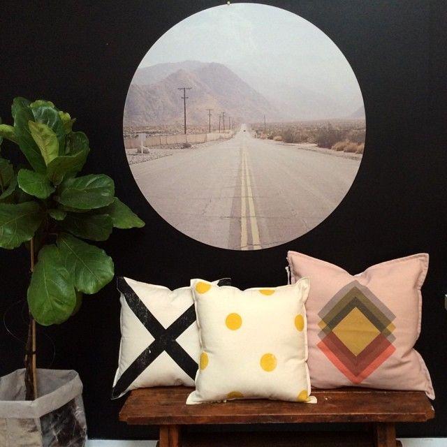 Mint Six | wall dot | ponyrider cushions