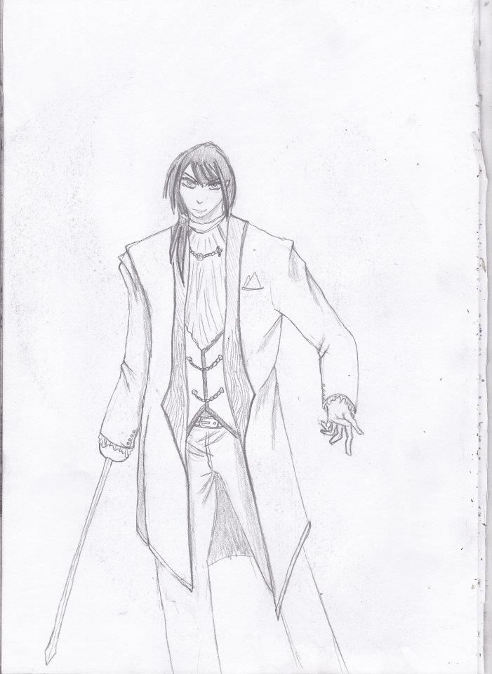 another manga drawing, just try to draw normal human