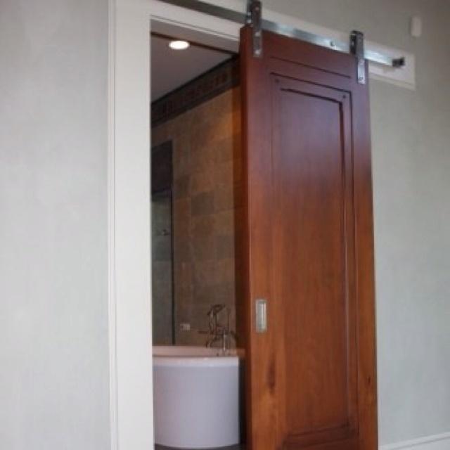 Sliding Door Into Wall 64 best barn door ideas images on pinterest | sliding doors