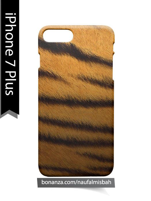 Tiger Fur Pattern iPhone 7 PLUS Case Cover Wrap Around