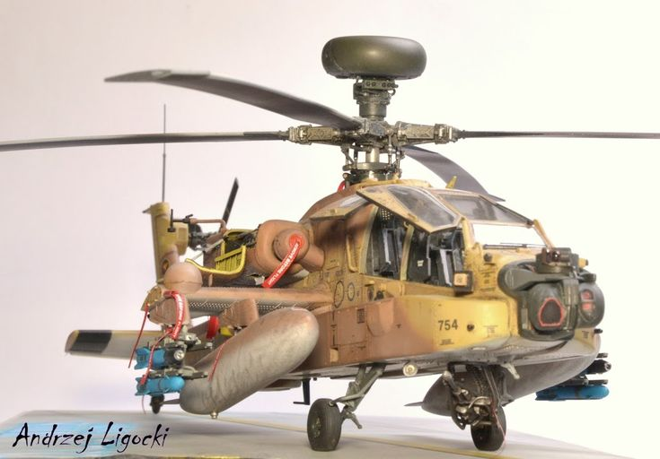 AH-64 D Saraf 1/48 Hasegawa