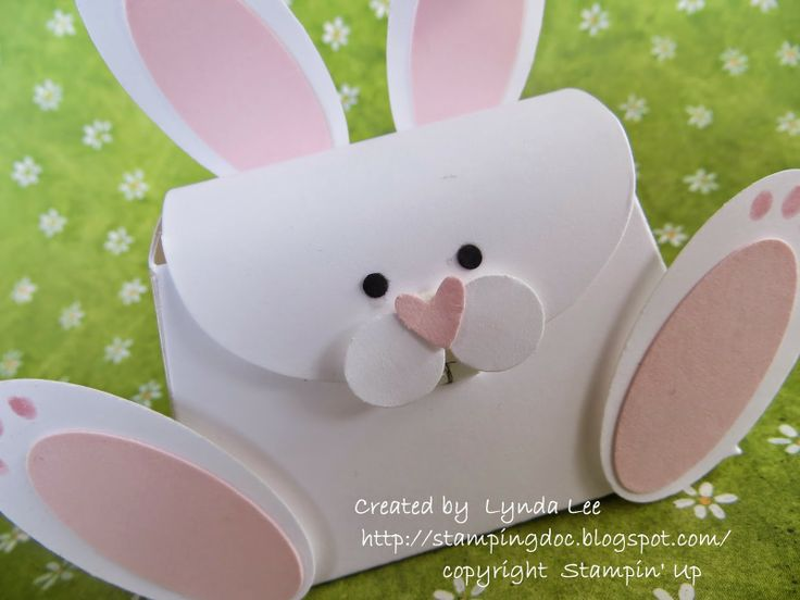 Easter Bunny Stampin' Up Purse
