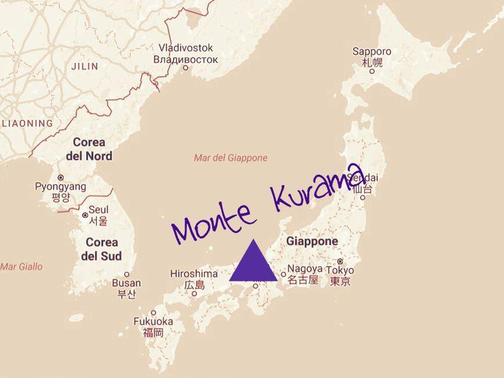 Monte Kurama, Giappone. Qui Mikao Usui nel 1921 raggiunse l'Illuminazione in cui canalizzò il Reiki. www.reikie.it