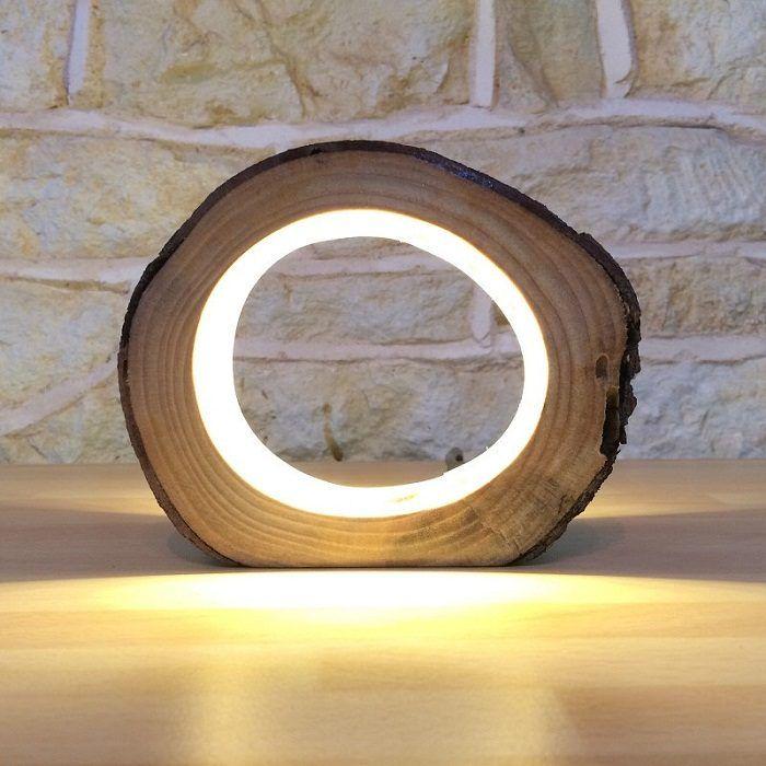 Невероятные светильники из дерева, которые помогут украсить и разнообразить жилище