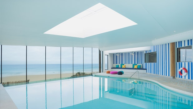 Watergate Bay Hotel - A gorgeous hotel in Cornwall #fillyourstocking