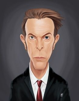 David Bowie by robart at zippi.co.uk art | decor | wall art | inspiration | caricature | home decor | idea | humor | gifts
