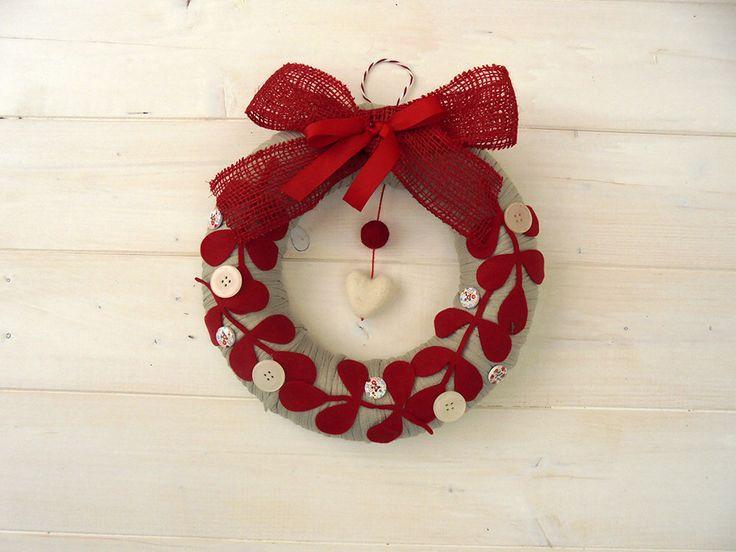 Oltre 1000 idee su appendini per porta di natale su pinterest decorazioni per porte in legno - Decorazione natalizia per porta ...