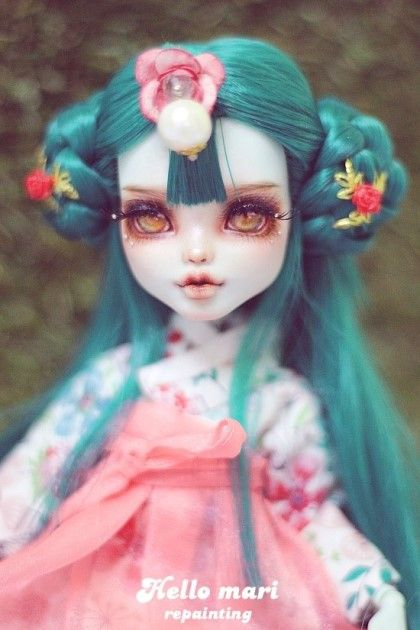 OOAK MonsterHigh DollRepaint #HelloMariRepaint http://yahos.kr/bbs/board.php?bo_table=doll_auc&wr_id=43552야호스에서 6월18일 토요일 밤 12시까지...