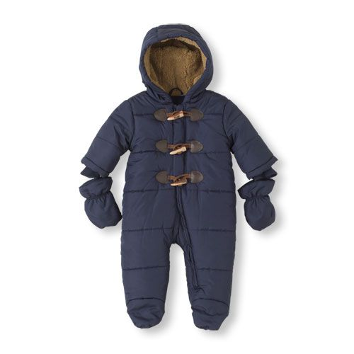 The Perfect Snowsuit For Crisp Cold Days Complete With