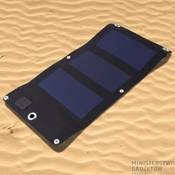 Ładowarka Solarna Sunen 3W. Już nie musisz obawiać się braku elektryczności, wystarczy odrobina słońca... :)