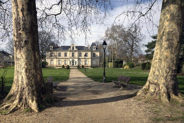 Parks and gardens of Nantes  Grand Park Blottereau