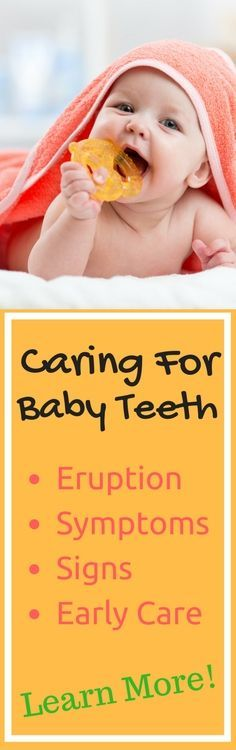 Learn useful advice on tooth eruption, symptoms, signs and early care so that the transition to a full mouth of healthy teeth can be an easier one for you and your child! Caring for Baby Teeth doesn't have to be complicated - learn more here!