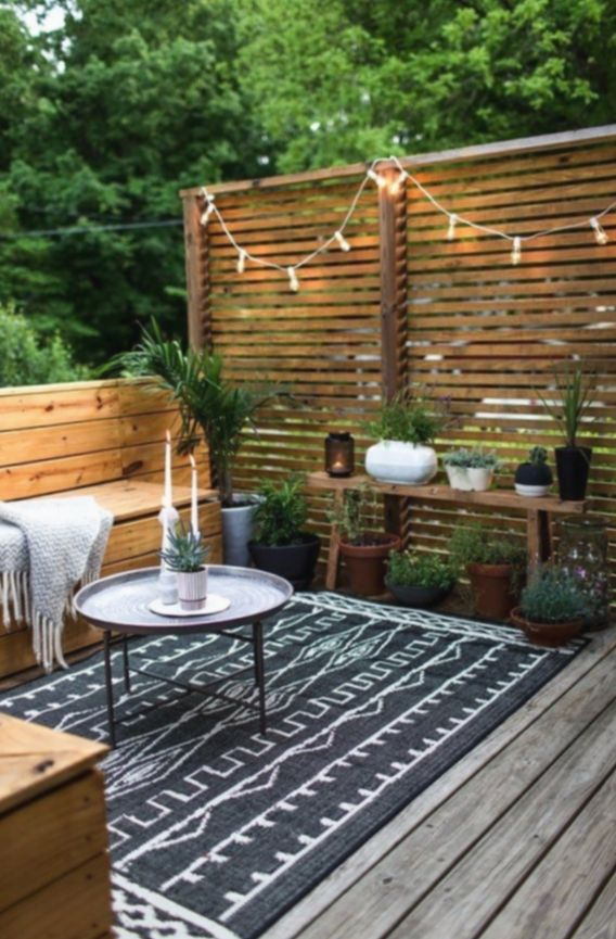 Diy Outdoor Space Outside Patio Ideas Livetiny Nature